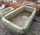 Beautiful Tapered Reclaimed Cornish Granite Trough
