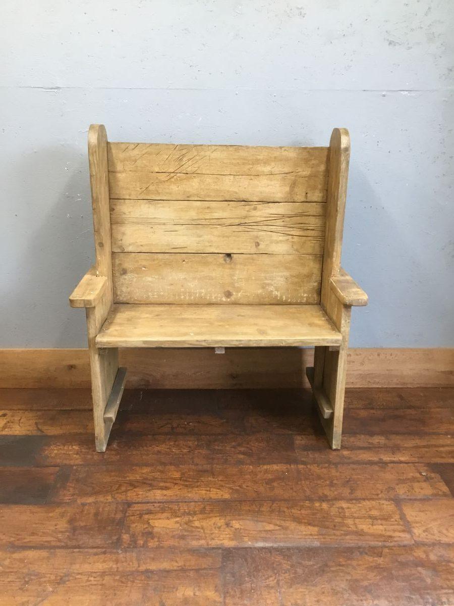 Scaffold Board Pew Style Bench