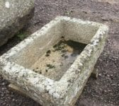 Reclaimed Cornish Granite Trough