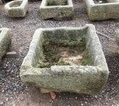 Reclaimed Cornish Granite Square Trough