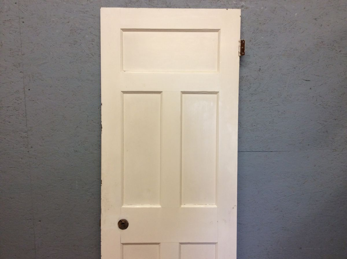 Medium White 5 Panelled Door