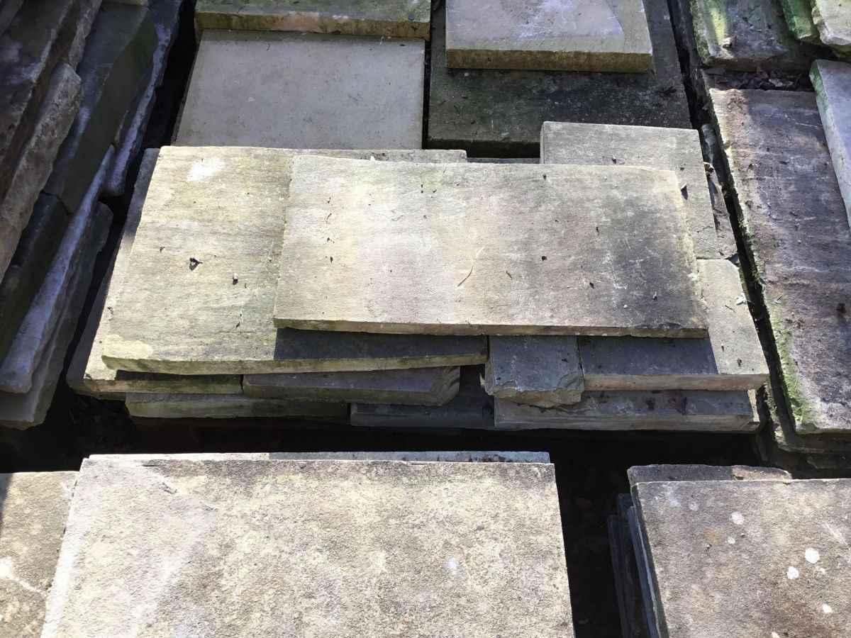 Small Reclaimed York Stone Batch