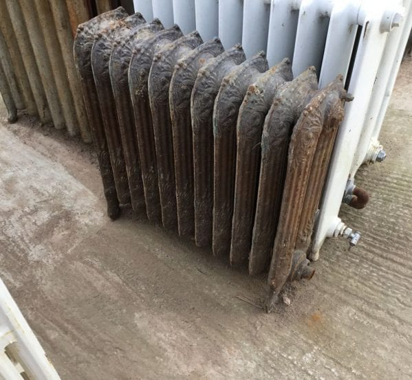 Reclaimed Decorative Princess Radiator