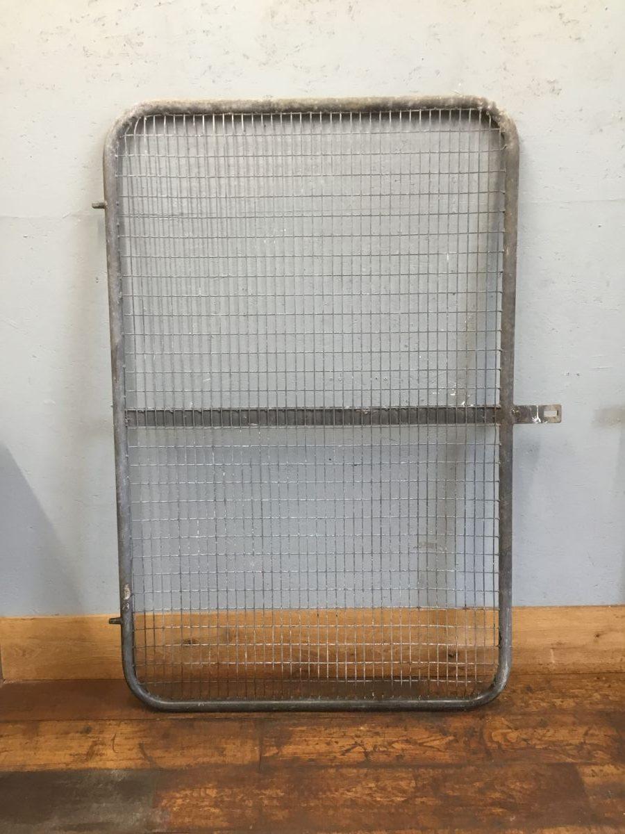 Single Galvanised Metal Gate