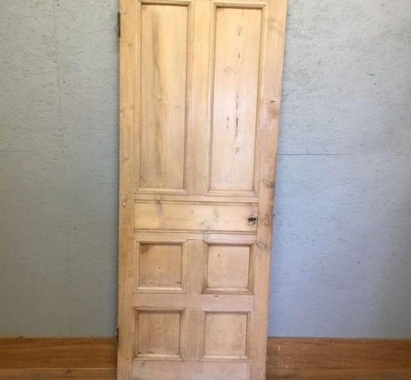 2 Over 4 Panel Panel Pine Stripped Door