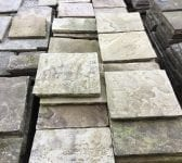 Reclaimed Buff York Stone Paving