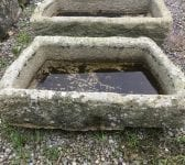 Angular Reclaimed Cornish Granite Trough
