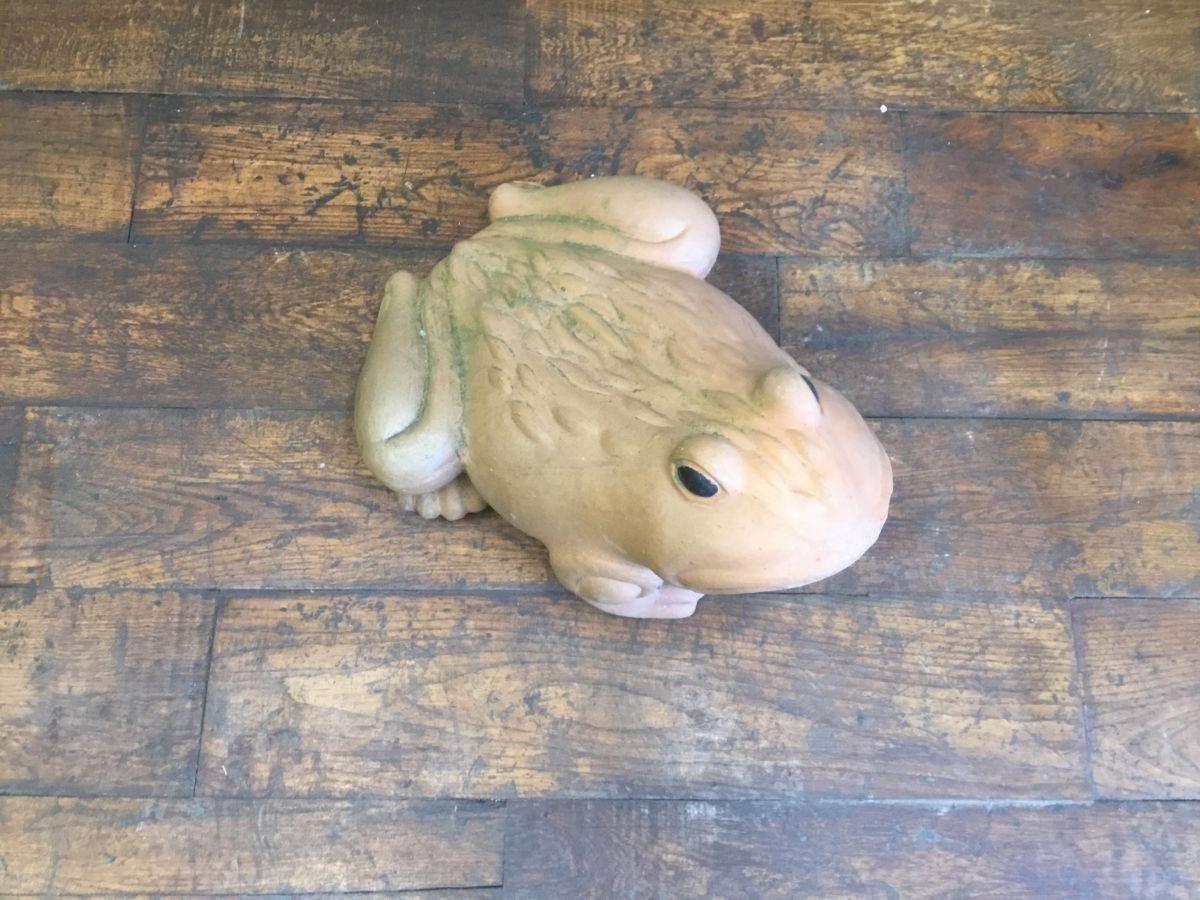 Terracotta Frog