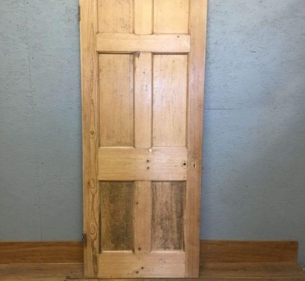 Reclaimed 6 Panel Stripped Door
