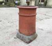 Square based Reclaimed Terracotte Chimney Pot
