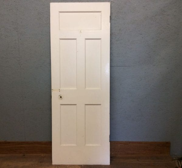 White 5 Panelled Door