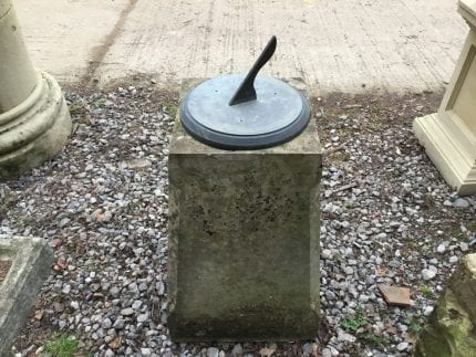 Beautiful Tapered Reclaimed Mounted Sundial