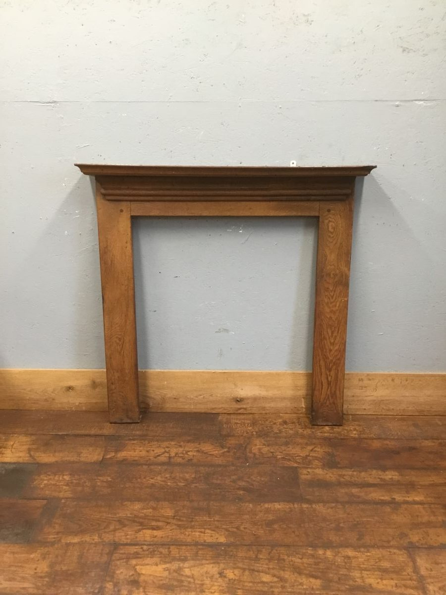 Simple Solid Oak Fire Surround