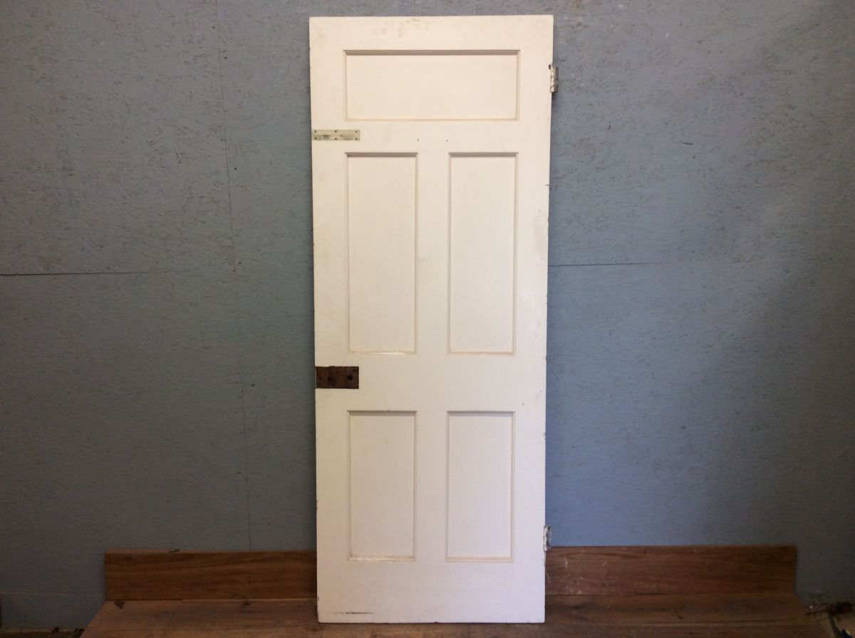 Large White 5 Panelled Door