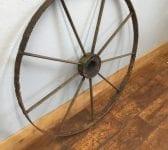 Large Iron Wheel