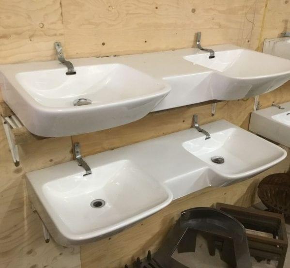 Reclaimed Double Basins