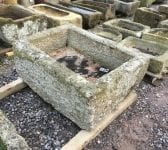 Rectangular Reclaimed Stone Garden Trough