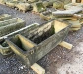 Concrete Reclaimed Partitioned Trough