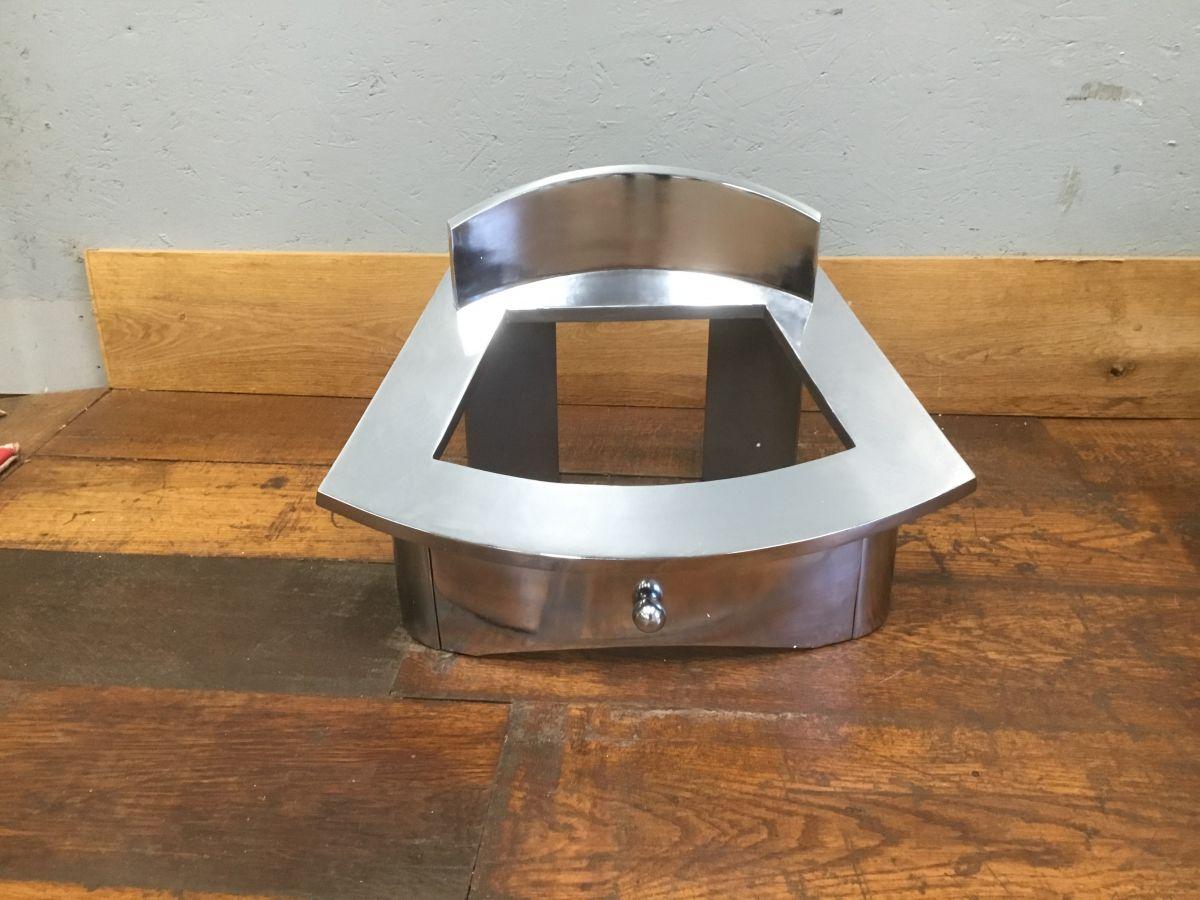 Chrome Plated Cast Iron Fire Basket