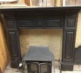 Ornate Panel Cast Iron Fire Surround