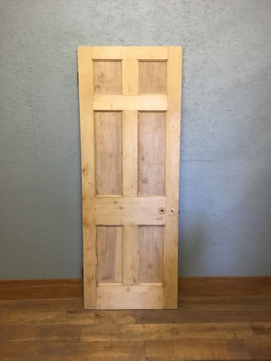 2 Over 2 Over 2 Reclaimed Pine Door