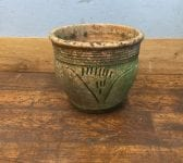 Embossed Pattern Terracotta Pot