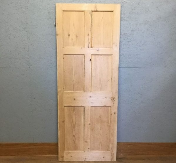 Pine 6 Panel Stripped Door