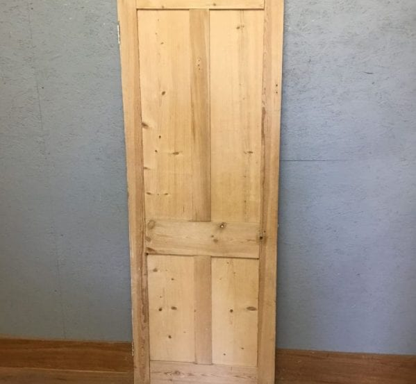 Stripped 4 Panel Pine Door