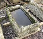 Garden Reclaimed Cornish Granite Trough