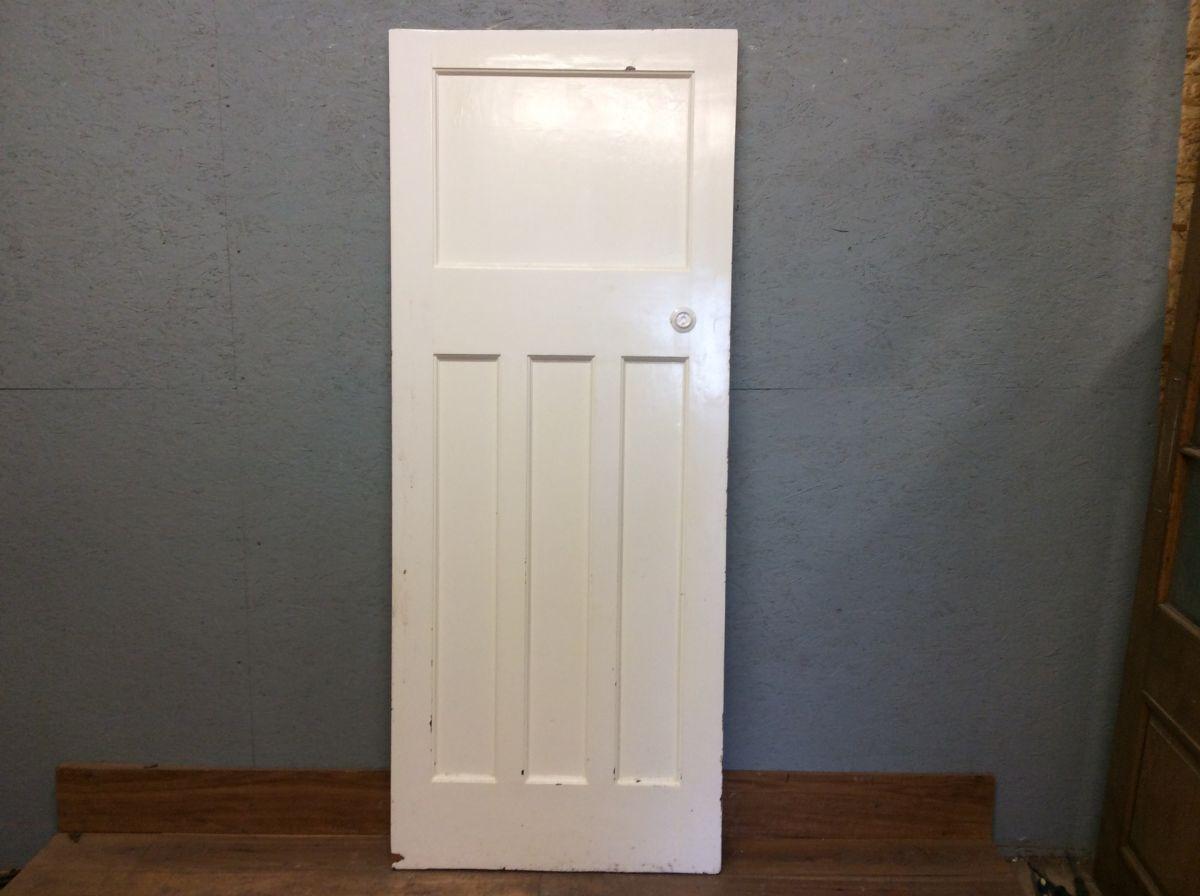 XL White 1 Over 3 Door