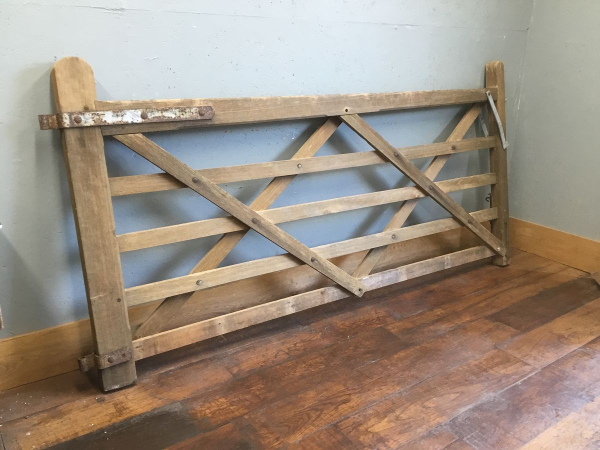 Five Bar Wooden Gate