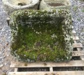Triangular Reclaimed Stone Trough