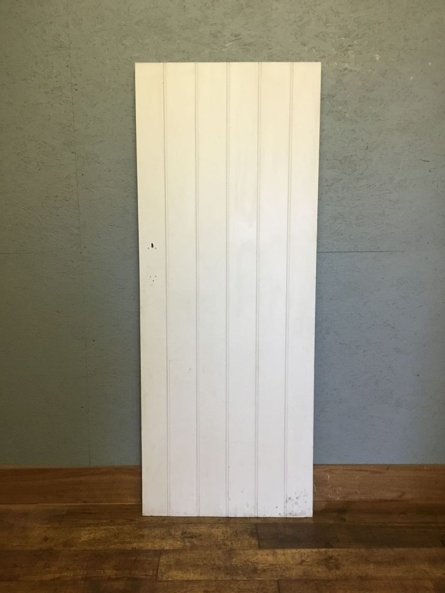 Simple Painted Ledge & Brace Door