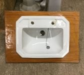 Reclaimed Wooden Trimmed Sink