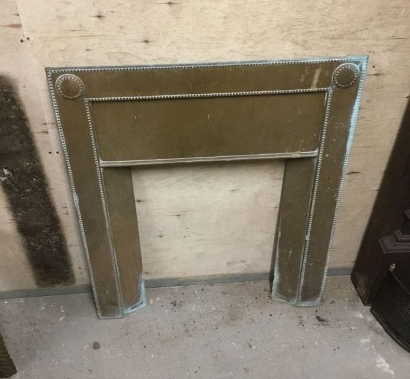 Brass Fire Insert Front Panel