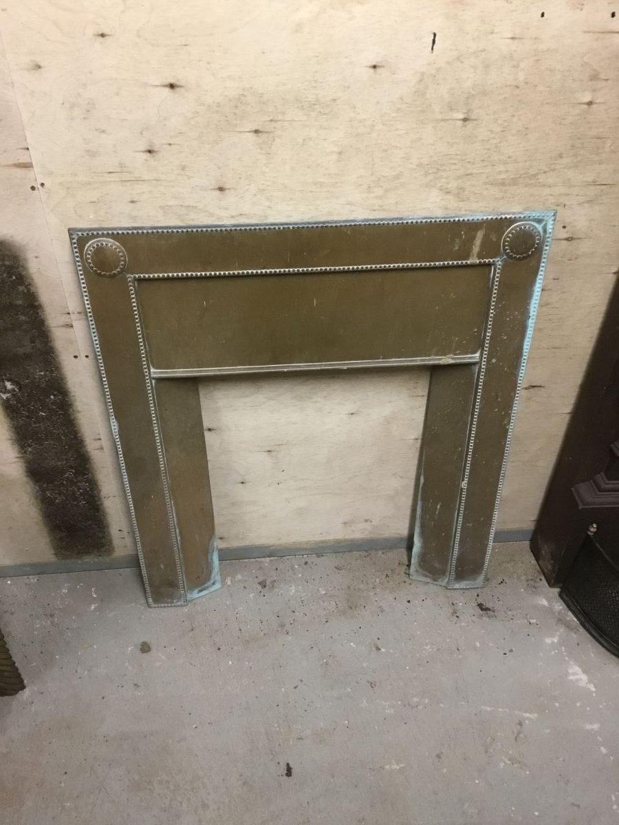 Brass Fire Insert Front Panel