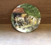 Old Country Crafts 'The Blacksmith' 1990 Plate