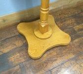 Reclaimed Wood Finish Poseur Pub Table