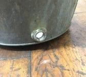 Reclaimed Large Galvanised Bucket