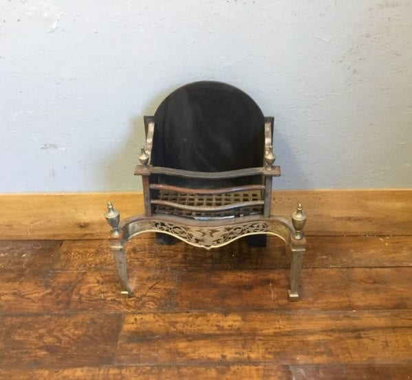 Reclaimed Gold Trimmed Fire Basket