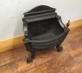 All Black Regency Style Fire Basket