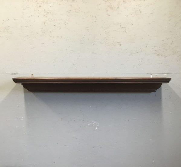 Carved Oak Mantle Piece