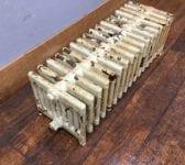 9 Bar Reclaimed Painted Radiator