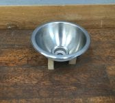 Round Stainless Steel Basin