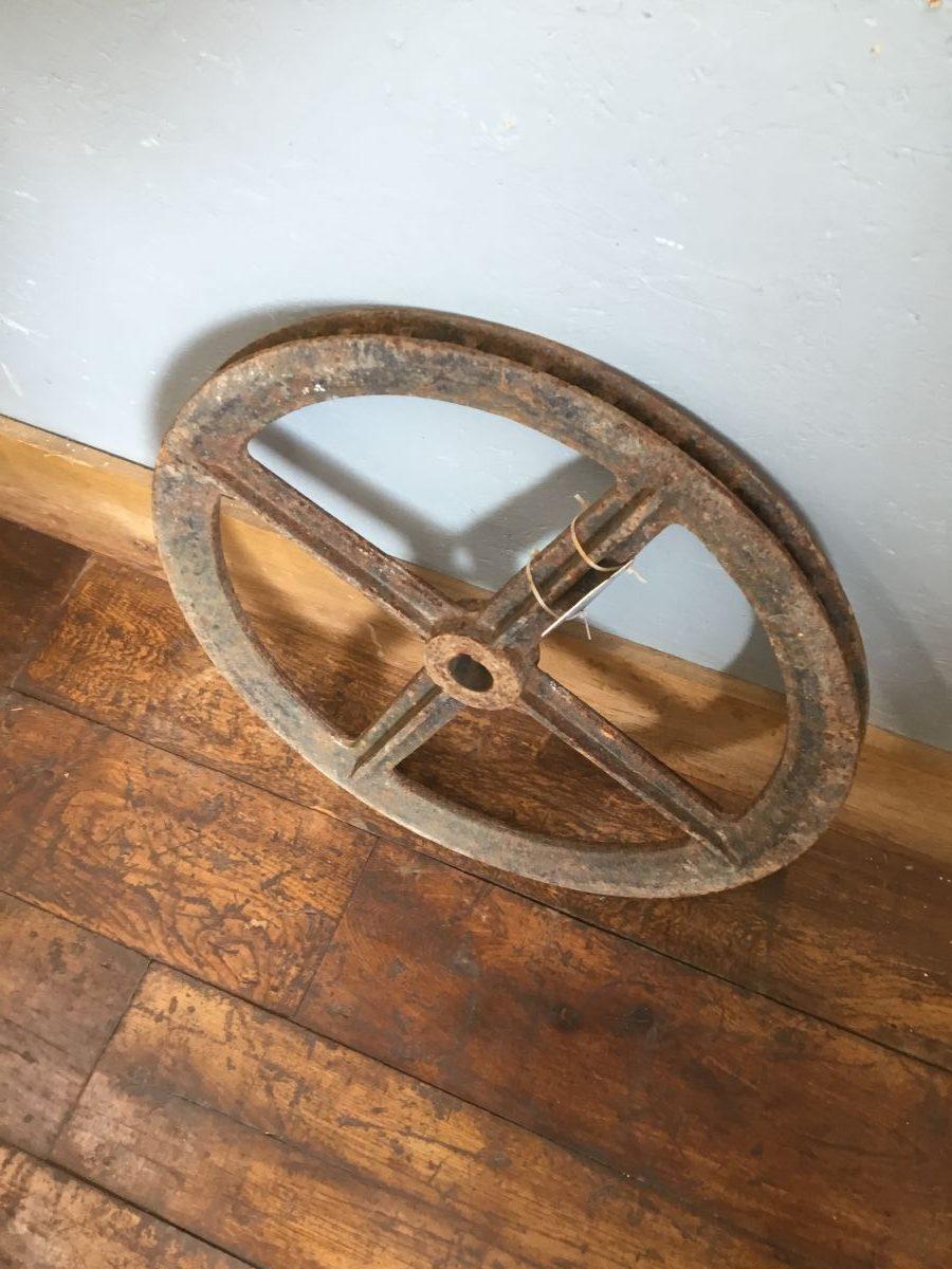 Solid Cast Iron Wheel