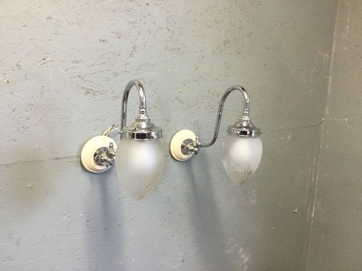 Pivoting Reclaimed Wall Lights