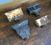 Rectangular Cast Iron Rain Hoppers