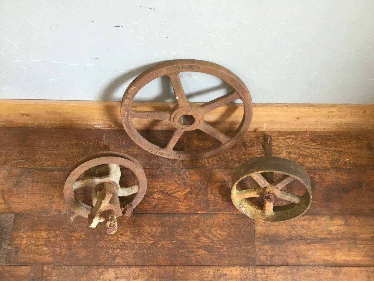 Cast Iron Wheel Selection