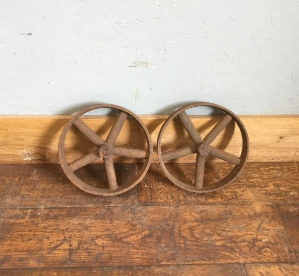 5 Bar Cast Iron Wheels