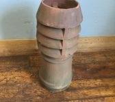 Midi Louvred Terracotta Chimney Pot